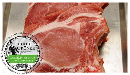 Steak vom Schwein