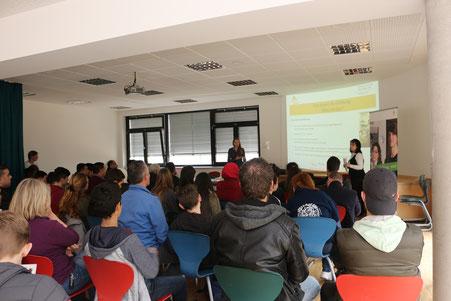 Vortrag über die duale Berufsausbildung