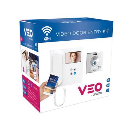 Caja del Kit Videoportero VEO WiFi DUOX