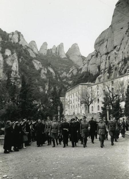 Гиммлер и священная гора Монсеррат в Каталонии