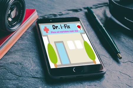 iPhoneアイフォン修理なら広島市中区紙屋町本通り近くのミスターアイフィクスで