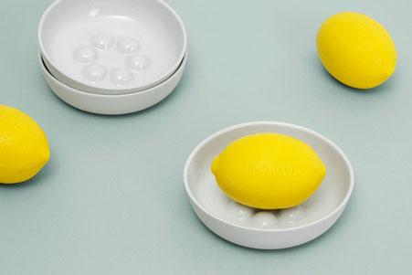 Bronnleys Zitronenseife feinesweißes Porzellan Seifenschale Berlin