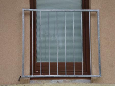 Französischer Balkon verzinkt