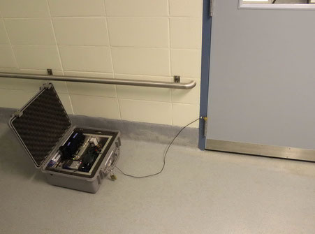 Vibration Monitor in Laboratory Building With Sensitive Equipment