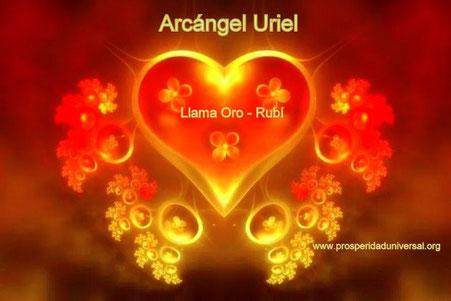 El Arcángel Uriel con su Infinita Llama Anaranjada envuelve siempre nuestro dinero.