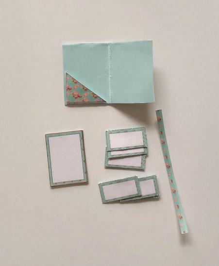 Mini-Briefpapiermappe