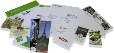 Imprimerie de l'étoile imprimeur carte de visite