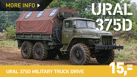 URAL 375D MILITARY TRUCK DRIVE