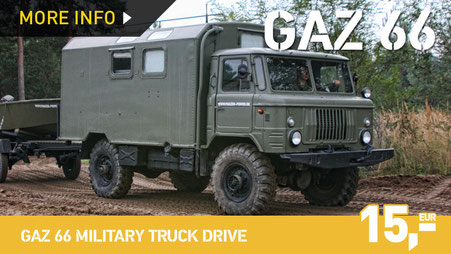 GAZ 66 MILITARY TRUCK DRIVE