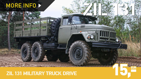 ZIL 131 MILITARY TRUCK DRIVE