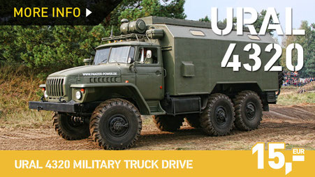 URAL 4320 MILITARY TRUCK DRIVE