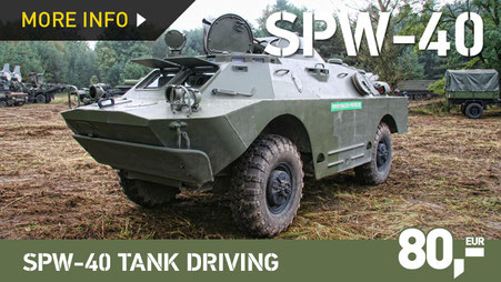 SPW-40 / BRDM-2 ARMOURED TRANSPORTER TANK DRIVING