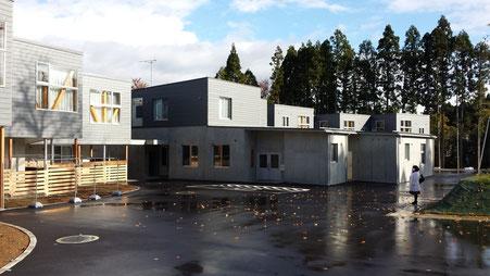 新しくなった『若竹寮』。新しい宿舎で伸び伸びと育ってください。私たちも応援しています