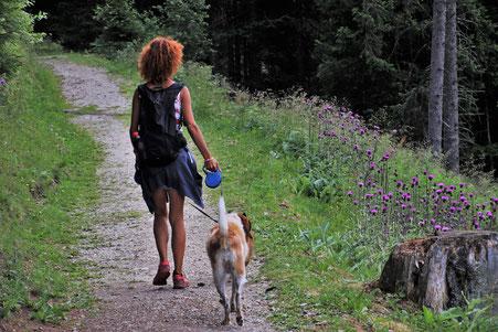 Ein kurzer Spaziergang bevor es losgeht.