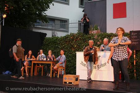 »Treibjagd« von Arno Boas, 2018 - © RST - Manfred Laukemann, Satteldorf