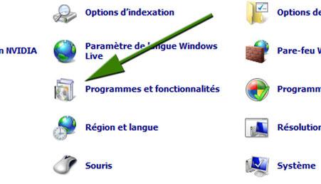 Programme et fonctionnalités