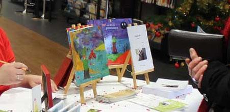 Vente-Dédicace de l'illustratrice Cloé Perrotin à la bibliothèque de Donzy en Décembre 2015