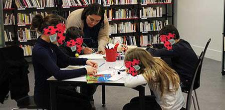 L'auteure illustratrice Cloé Perrotin réalise des ateliers dans vos bibliothèques médiathèques