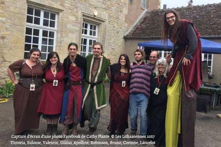 La famille Gatel organisatrice des Lithaniennes 2017