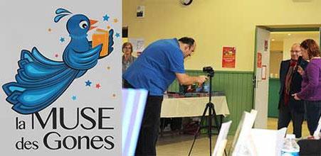 """Le nouveau logo de """"La Muse des Gones"""" et les chroniques vidéos des """"Lectures du Hibou"""" 2016"""