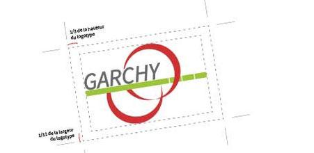Détail de la charte graphique d'un logo d'une mairie réalisés par Cloé Perrotin
