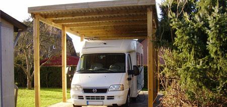 HD Carports - Wohnmobilcarport Bausatz aus Holz zum günstigen Preis kaufen
