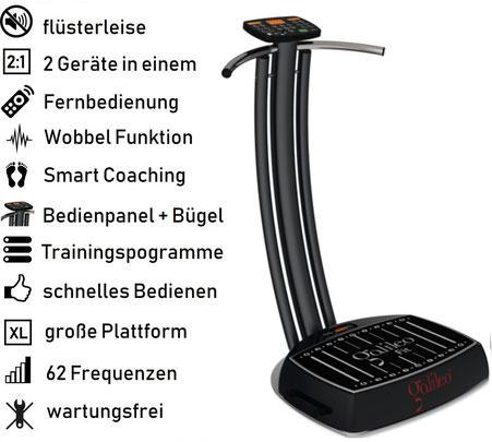 Vibrationsplatte Galileo Fit, Vibrationstrainer, Galileo Training, gebraucht, kaufen, Preise, Preis, Test, Vertrieb: www.kaiserpower.com