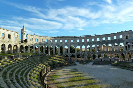 Istria top things to do - Amphiteatre - Copyright  yzhelen