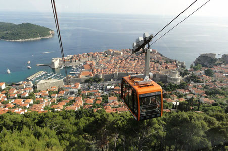 Dubrovnik top things to do - Cable Car - Copyright Michael Spencer