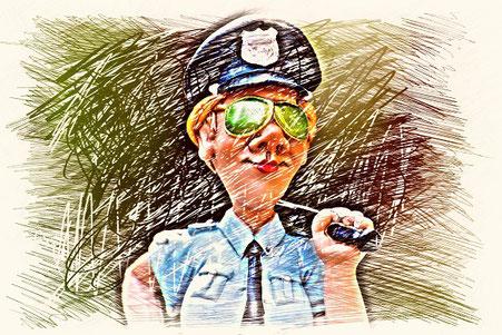 Krähenjagd ohne Polizeieinsatz