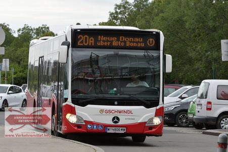 Linie 20a Wien Verkehrsmittel österreich