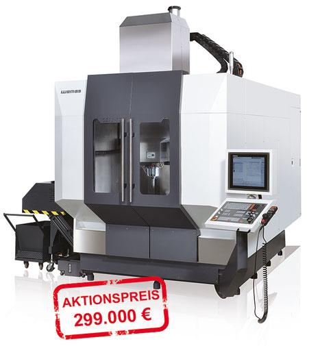WEMAS VZG 80 5 A Generation II, Aktion, CNC Maschinen, vertrieb österreich Toolart Maschinen und Präzisionswerkzeuge