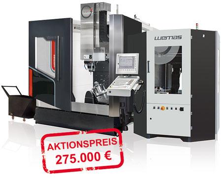 WEMAS VZG 65 5 A Generation II mit Automation, Aktion 2020, CNC Maschinen, Vertrieb österreich Toolart Maschinen und Präzisionswerkzeuge