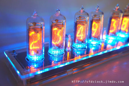 Plug&play IN-14 6-tube NIXIE tube clock