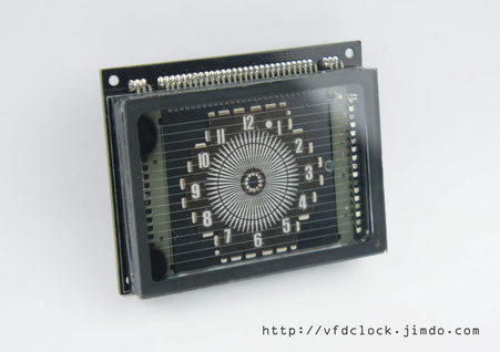 VFD48 Round VFD Module For ARDUINO/51/AVR/STM8S/STM32 etc.