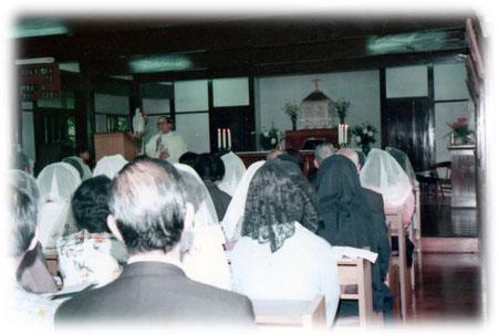 小教区発足のミサ