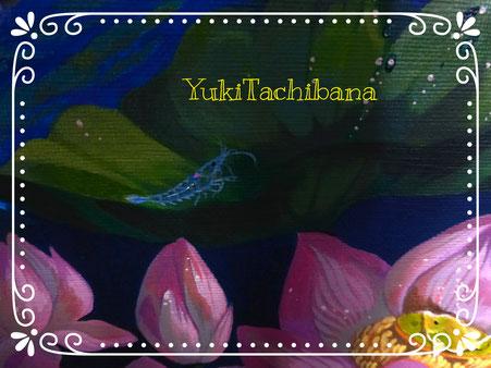 絵画 蘇生~立花雪 YukiTachibana 小さなハートの部分心臓。