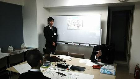 学びのナコード江別野幌店における職業体験