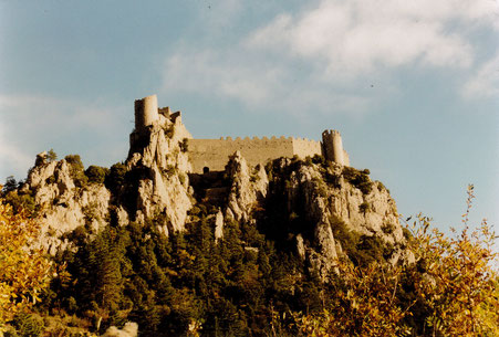 Vue du château dans les années 1990