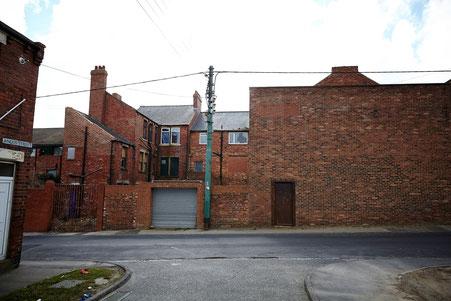 Umfeld von Billys zuhause im fiktiven Everington (Easington Colliery)