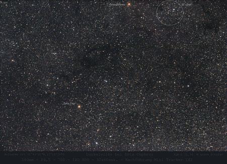 Dunkelwolke bei Zeta Cep.