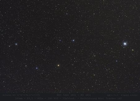 NGC 5466 und M3