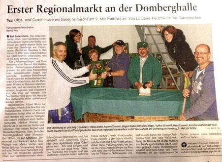 Pressebericht 2015 - Obst- und Gartenbauverein Bad Sobernheim e.V.