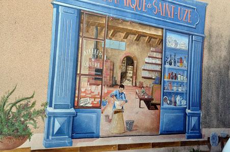 Façade de Saint-Uze