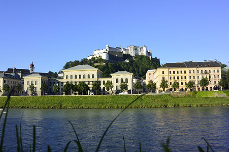 View from the Danube Salzburg Austria private city tour