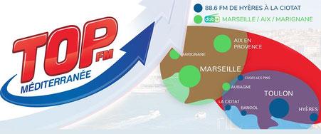 TOP FM Provence en DABplus à Marseille