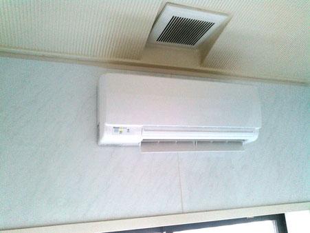 浴室暖房機