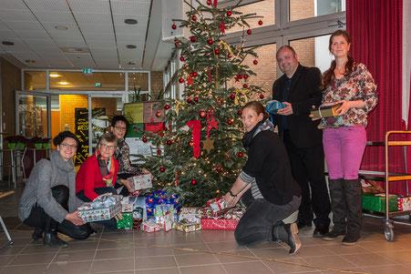 Geschenkübergabe Alexanderschule Wallenhorst