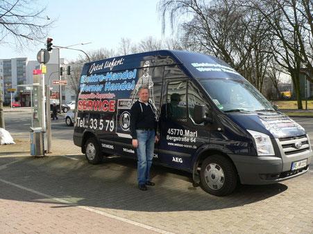 Seit fast 40 Jahren in Marl vertreten - ElektroService Werner Handel