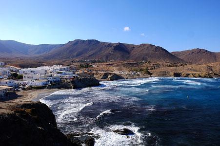 Photographie, Espagne, Andalousie, cabo de gata, plages, collines, falaises, vent, terre, lumière,été, vacances, Mathieu Guillochon
